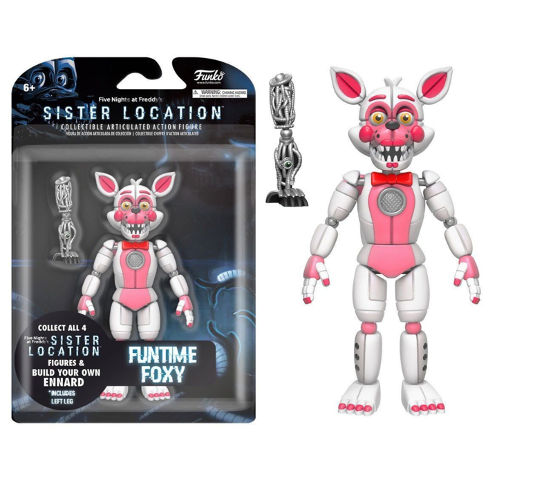 Five Nights at Freddy's: Funtime Foxy Figuur (2)