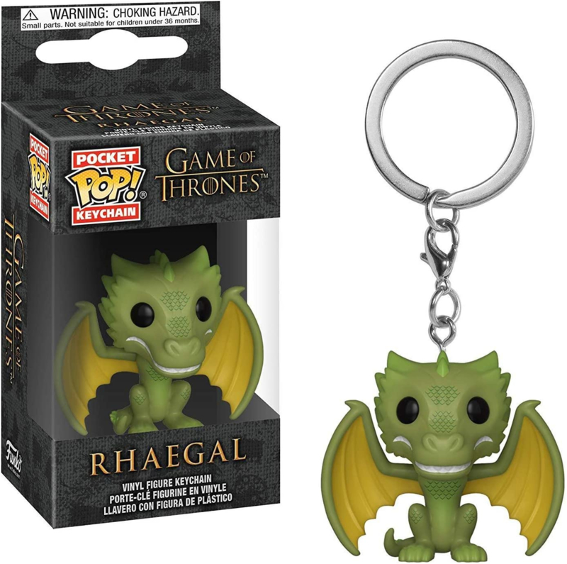 Game Of Thrones: Rhaegal Pocket Pop Keychain