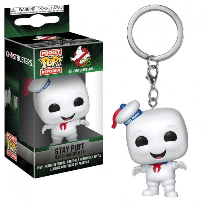 Ghostbusters: Stay Puft Pocket Pop Keychain