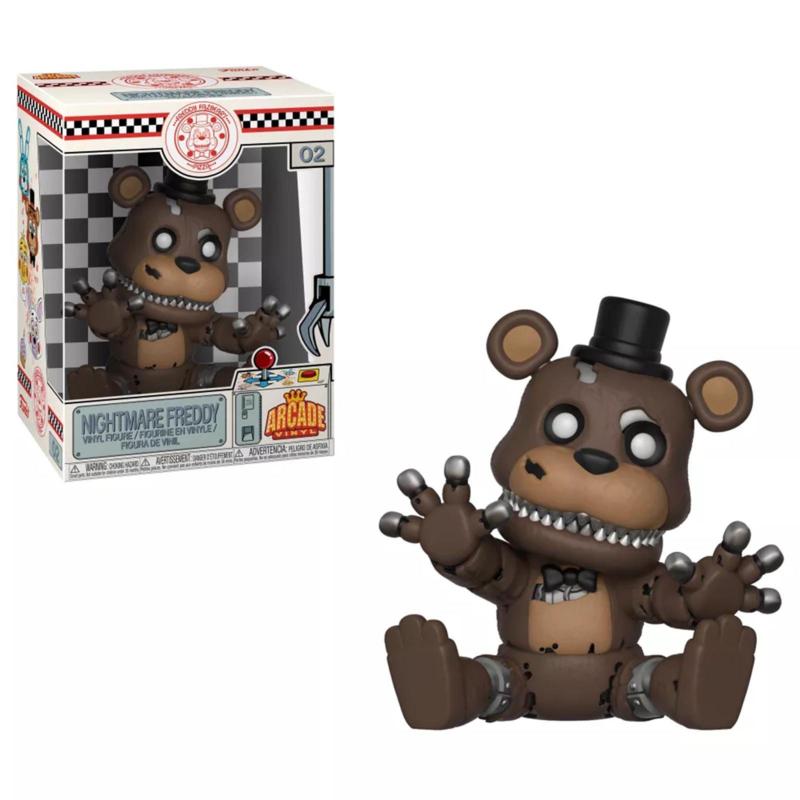 Five Nights at Freddy's: Nightmare Freddy Arcade Vinyl