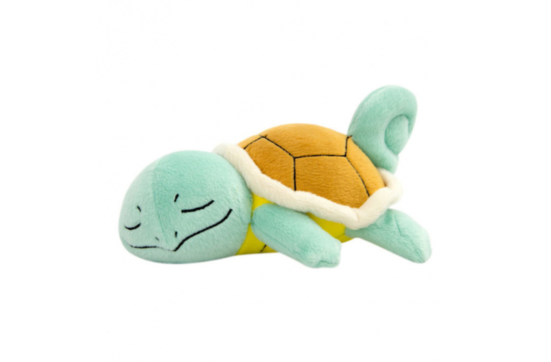 Squirtle (Slapend) Knuffel