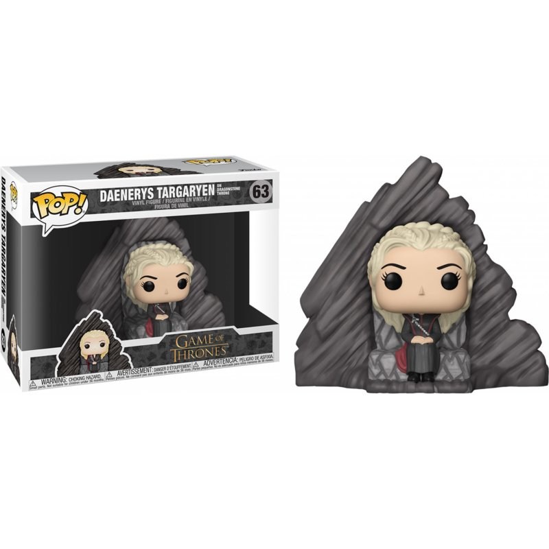 Game of Thrones: Daenerys On Dragonstone Throne Funko Pop 63