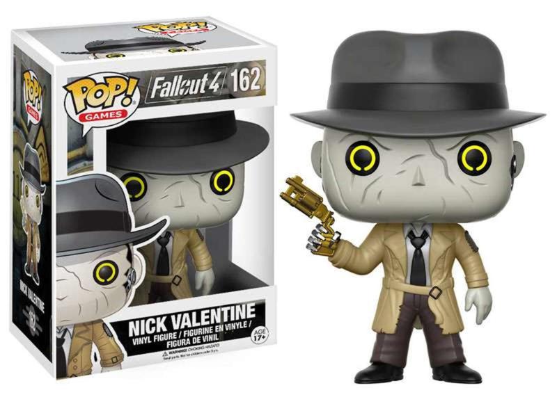 Fallout 4: Nick Valentine Funko Pop 162