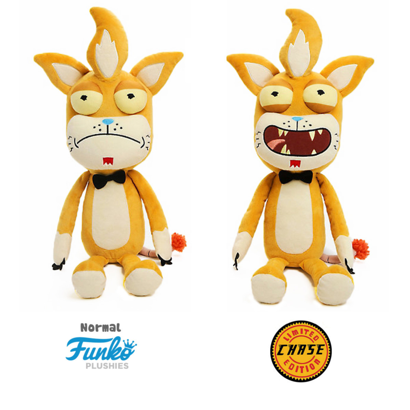 Rick and Morty: Squanchy XL PLush