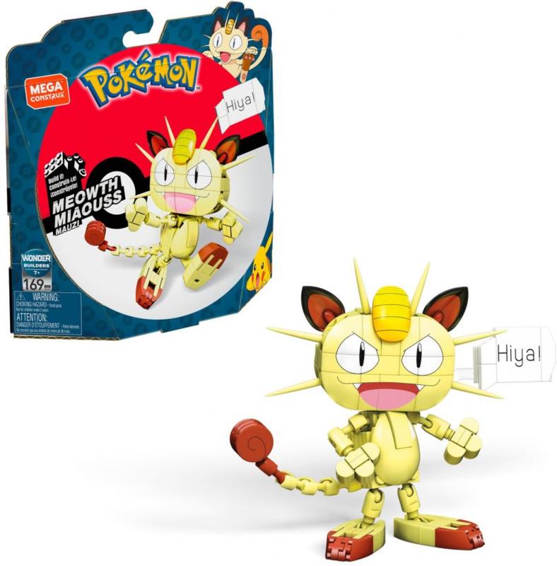 / Pokémon Mega Construx: Meowth \