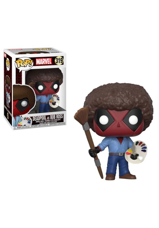 Marvel Deadpool: Deadpool as Bob Ross Funko Pop 319