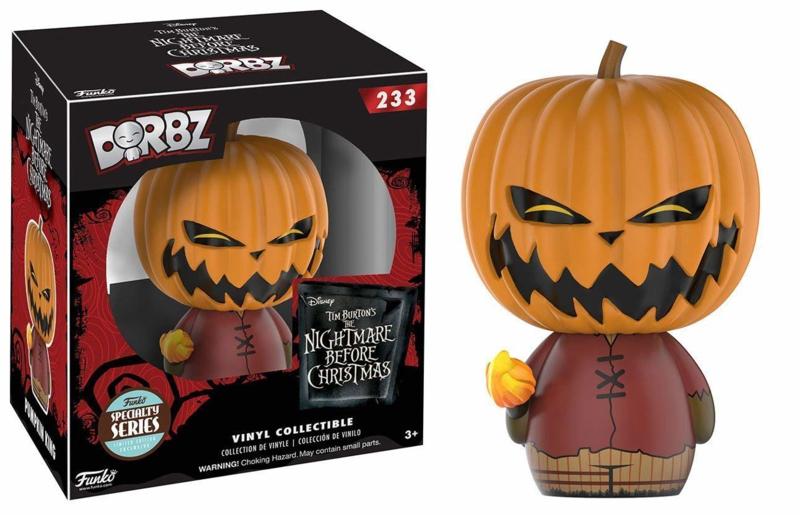 The Nightmare Before Christmas: Pumpkin King Dorbz 233