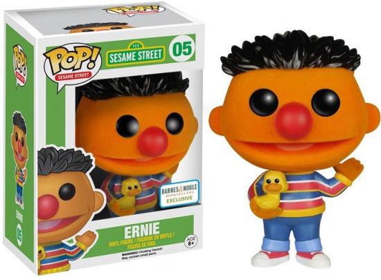 Sesame Street: Ernie (Flocked) Funko Pop 05