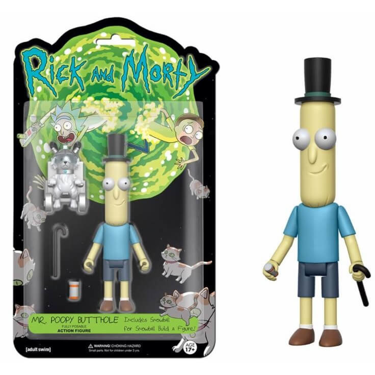 Rick And Morty: Mr. Poopy Butthole Figuur