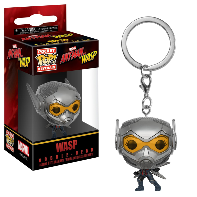 Marvel Antman and the Wasp: The Wasp Pocket Pop Keychain