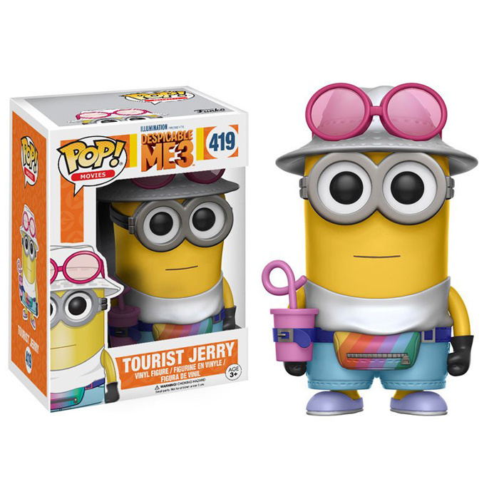 Despicable Me 3: Tourist Jerry Funko Pop 419