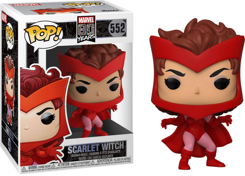 Marvel 80 Years: Scarlet Witch Funko Pop 552