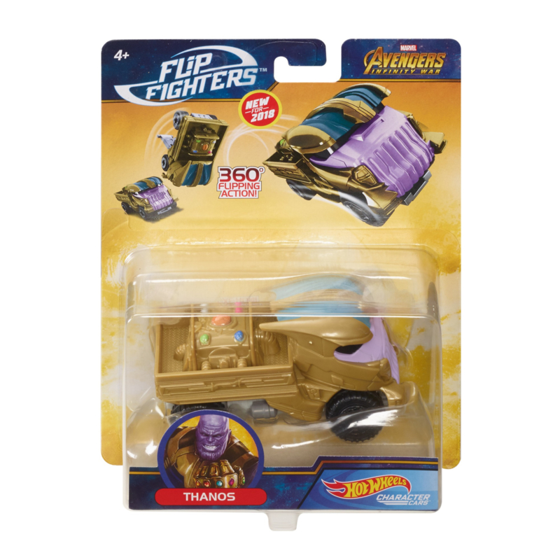 Marvel Hot Wheels Flip Fighters: Thanos