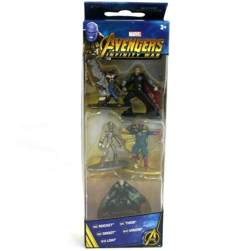 Marvel: Avengers Infinity War Metal Die Cast 5 Pack