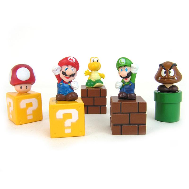Mario figuren 5 Pack