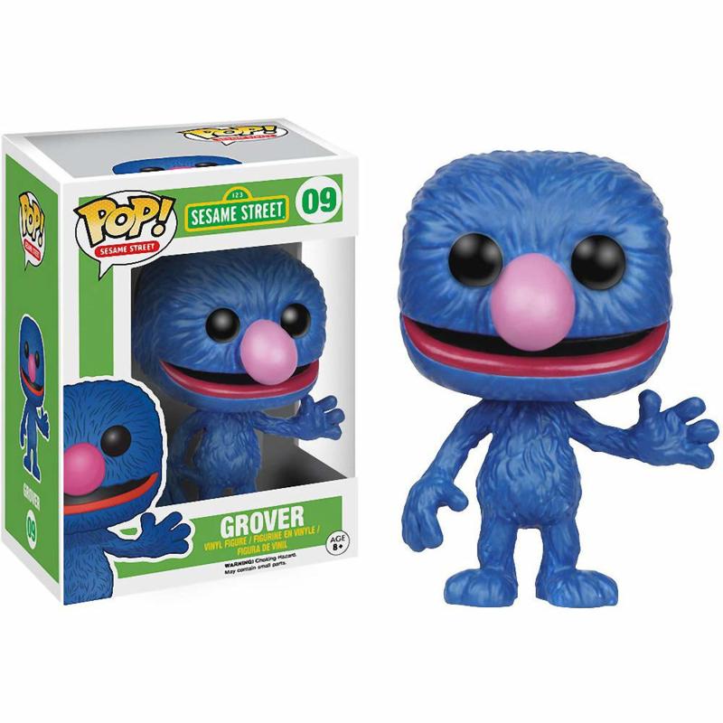 Sesame Street: Grover Funko Pop 09