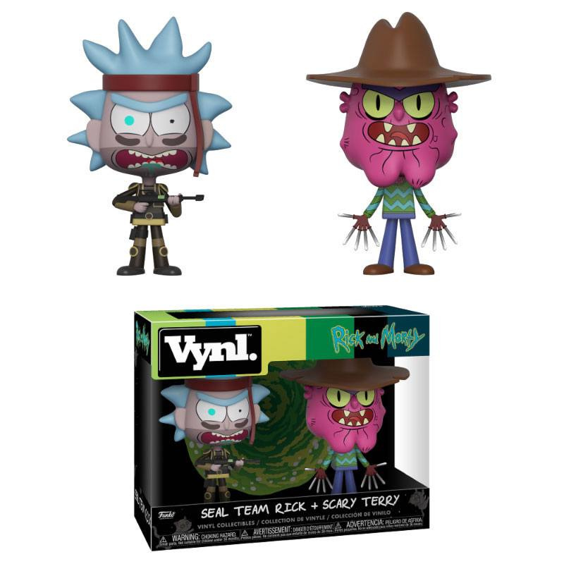 Rick and Morty: Seal Team Rock + Scary Terry 2 Pack Vynl