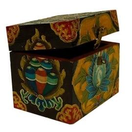 tarot, runen of rituelen bewaar doos