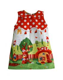 Kleid mit Peter-Pan-Kragen Größe 104 - 146