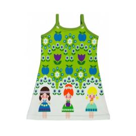 Sommerkleid mit Spaghettiträgern Größe 98 - 146
