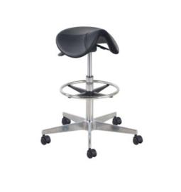 Werkstoel - Willie - Zadelkruk