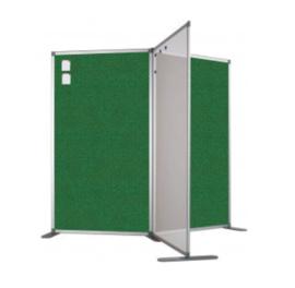 Scheidingswand - Accent - 80x110 cm (BXH) groen