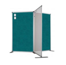 Scheidingswand - Accent - 80x110 cm (BXH) aqua