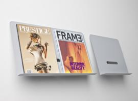 folderrek - wand tijdschriftenrek A4 | Wave totaalinrichting
