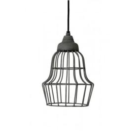 Hanglamp Light&Living Birke bruin/grijs