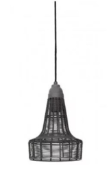 Hanglamp Light&Living Melia cement