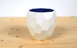 Dutch Design polygon mok