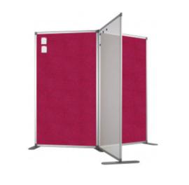 Scheidingswand - Accent - 80x110 cm (BXH) roze