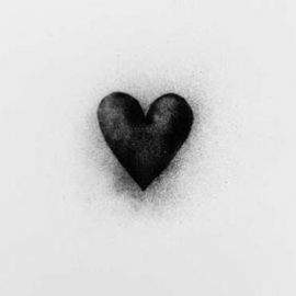 houten photoblock hart