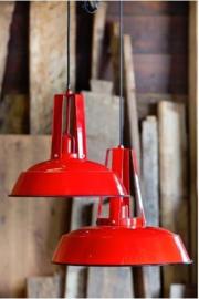 Hanglamp Light&living Inez rood