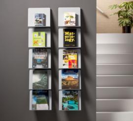 folderrek - wand tijdschriftenrek | Wave totaalinrichting