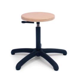 Werkstoel hout - Isabella