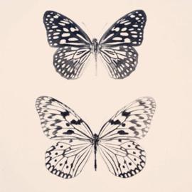 Houten photoblock vlinders