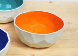 Dutch Design Poligon Bowl