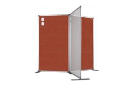 Scheidingswand - accent - 80x180 cm (BXH) oranje
