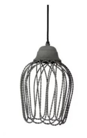 Hanglamp Light&Living Bettina cement