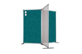 Scheidingswand - accent - 100x180 cm (BXH) aqua