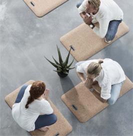 Ergonomische yoga mat