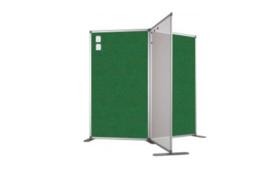 Scheidingswand - accent - 100x110 cm (BXH) groen
