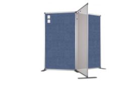 Scheidingswand - accent - 80x140 cm (BXH) paars