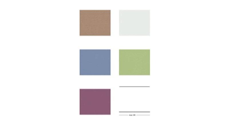 colour pin boards pastel