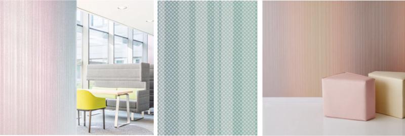 Vescom - textiel wandbekleding behang - Fizzle graphic   Wave Totaalinrichting