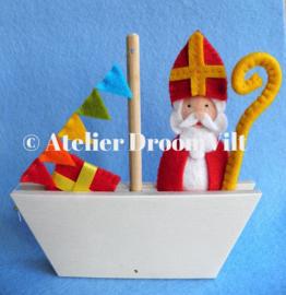Viltpakket 'Bootje met Sinterklaas'