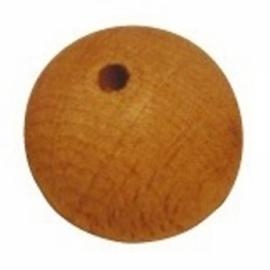 Houten kralen ⌀ 18 mm blank