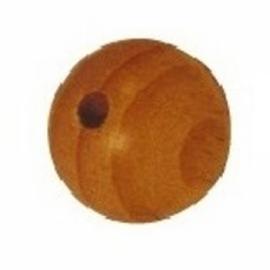 Houten kralen ⌀ 8 mm blank 10 stuks
