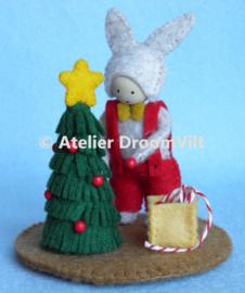 Patroonblad 'Kerstboom optuigen'